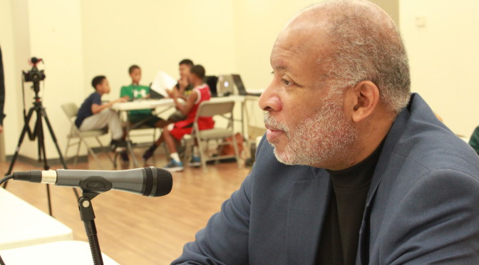 Community Advocate Malik Bankston